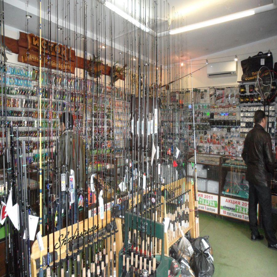 Охотничьи и рыболовные магазины на карте Минска
