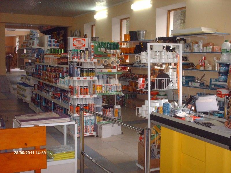 Программа автоматизации ,магазин,, стройматериалы - Глодень