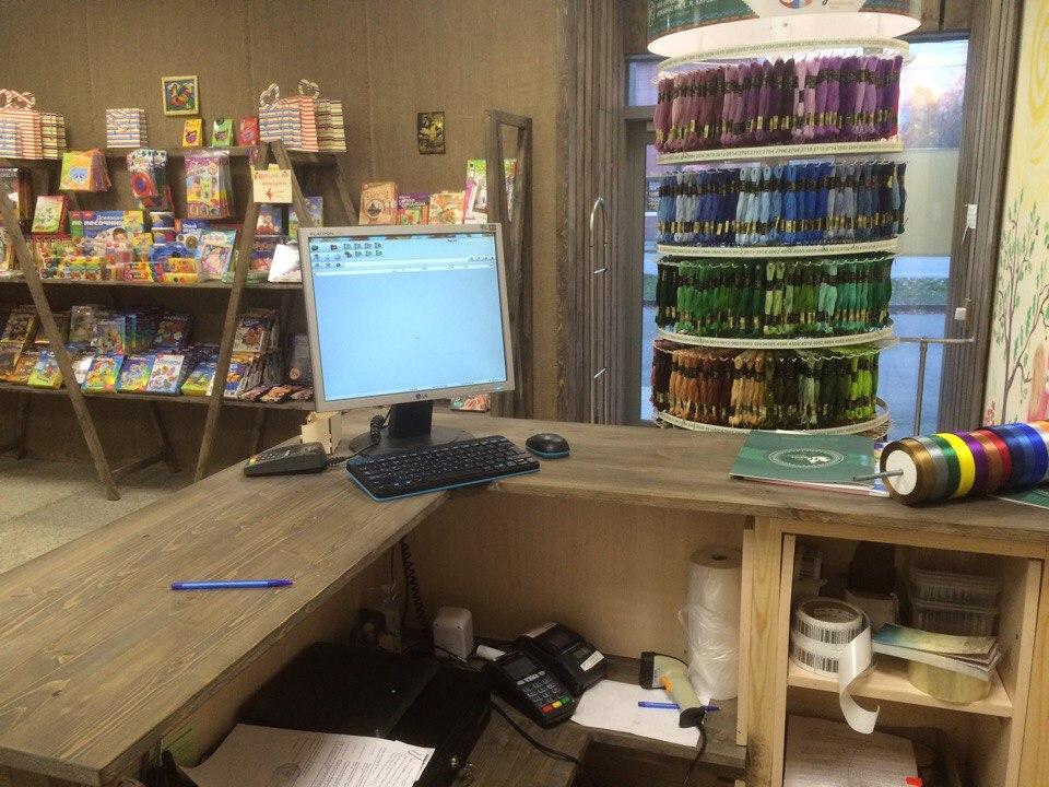 Программа автоматизации магазин, онлайн-касса, онлайн кассы, магазин товаров для творчества, товары для творчества, Атол 30Ф - Петрозаводск
