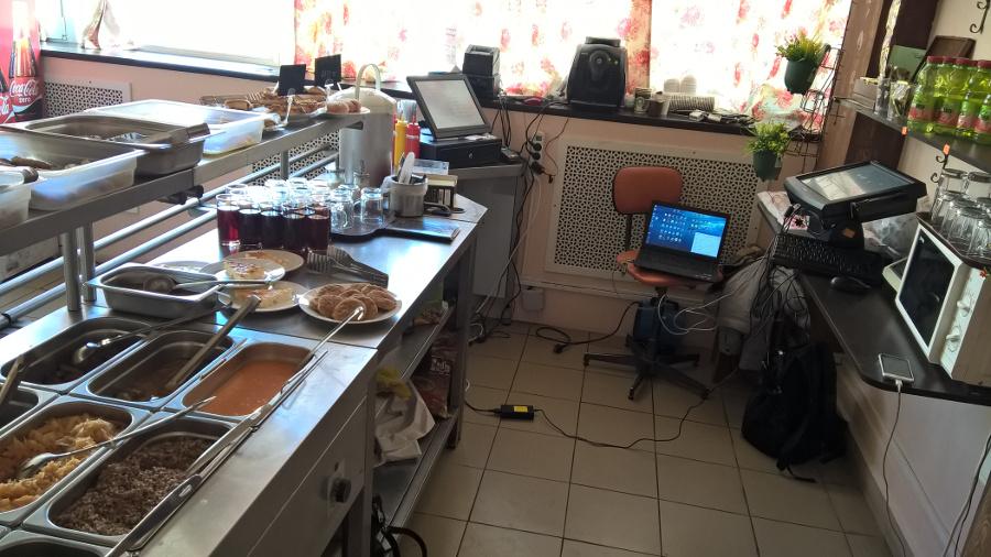 Программа автоматизации кафе, столовая, 54-ФЗ, 54ФЗ, онлайн кассы, онлайн-касса, кафе-столовая - ПЕРМЬ